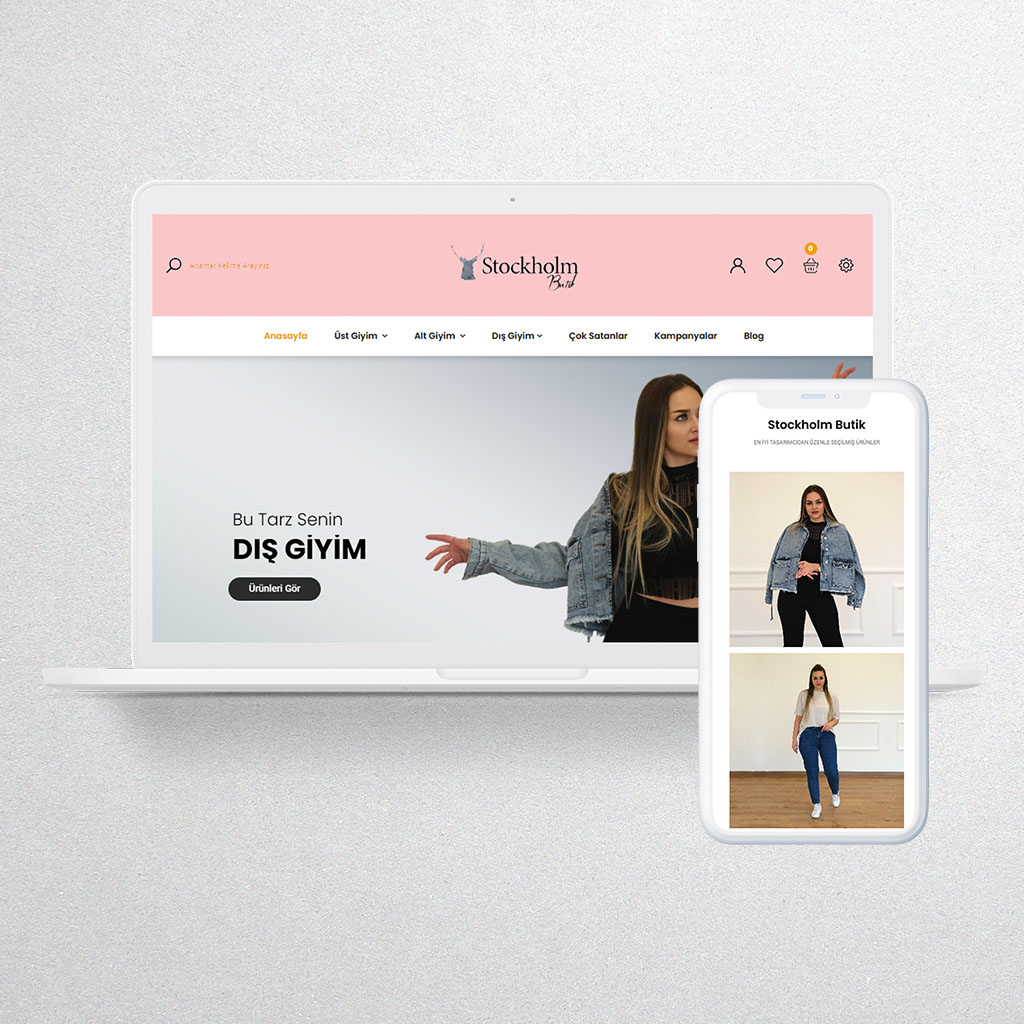 Stockholm Butik Web Sitesi