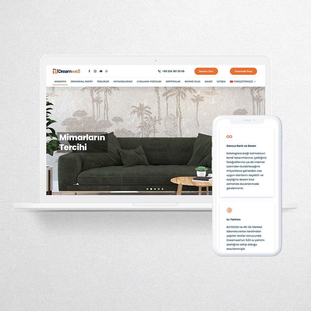 Dreamwall Web Sitesi